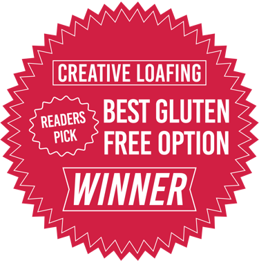Reader's pick for Best Gluten Free Option in Atlanta in Creative Loafing Magazine